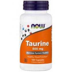 NOW Sports Taurine 500 100 капсул без вкуса
