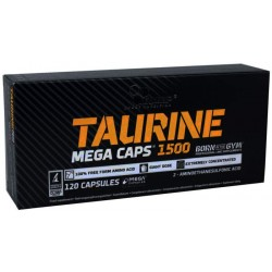 Olimp Taurine Mega Caps 120 капсул без вкуса