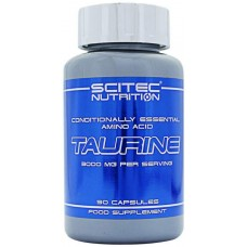 Scitec Nutrition Taurine 90 капсул без вкуса