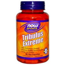 Бустер тестостерона NOW Tribulus Extreme 90 капс. натуральный
