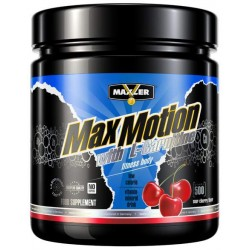 Изотонический напиток Maxler Max Motion + L-Carnitine 500 г вишня