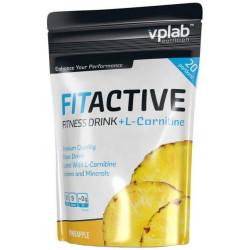 Изотонический напиток VPLab FitActive Fitness Drink + L-Carnitine 500 г ананас