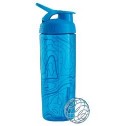 Бутылка, шейкер Blender Bottle SportMixer Sleek 1 кам. 828 мл голубой