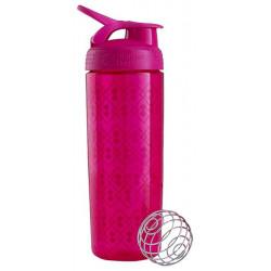 Бутылка, шейкер Blender Bottle SportMixer Sleek 1 кам. 828 мл малиновый