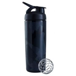 Бутылка, шейкер Blender Bottle SportMixer Sleek 1 кам. 828 мл черный