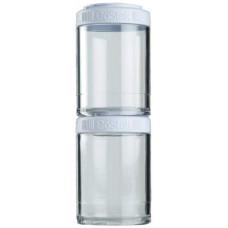 Банка Blender Bottle GoStak 2 кам. 150 мл белый