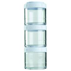 Банка Blender Bottle GoStak 3 кам. 100 мл белый