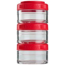 Банка Blender Bottle GoStak 3 кам. 60 мл красный