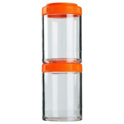 Банка Blender Bottle GoStak 2 кам. 150 мл оранжевый