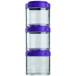 Банка Blender Bottle GoStak 3 кам. 100 мл фиолетовый