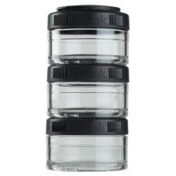 Банка Blender Bottle GoStak 3 кам. 60 мл черный