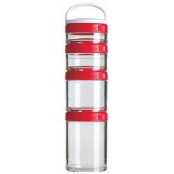 Банка Blender Bottle GoStak Starter 4 кам. 150 мл красный
