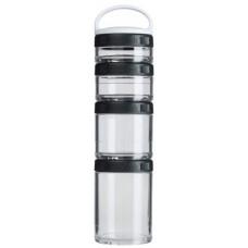 Бутылка Blender Bottle GoStak Starter 4 кам. 150 мл черный