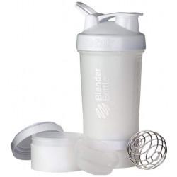 Шейкер Blender Bottle ProStak Full Color 1 кам. 650 мл белый