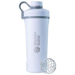 Шейкер Blender Bottle Radian Insulated Stainless 1 кам. 769 мл матовый белый