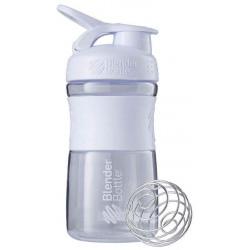 Шейкер Blender Bottle SportMixer 1 кам. 591 мл белый