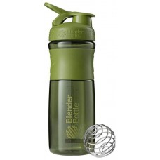 Шейкер Blender Bottle SportMixer 1 кам. 828 мл оливковый