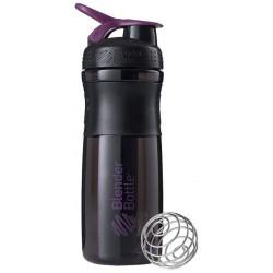 Шейкер Blender Bottle SportMixer 1 кам. 828 мл черный, сливовый
