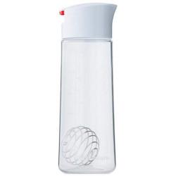 Шейкер Blender Bottle Whiskware Dressing Shaker 1 кам. 600 мл белый, красный