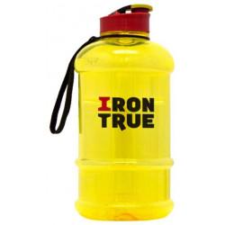 Бутылка IronTrue 1 кам. 1300 мл желтый, красный