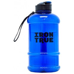 Бутылка IronTrue 1 кам. 1300 мл синий, черный