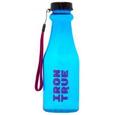 Бутылка IronTrue 1 кам. 550 мл черный, голубой