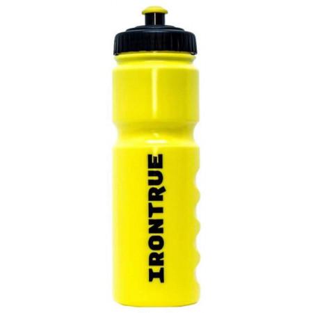 Бутылка спортивная IronTrue 750 мл черный, желтый