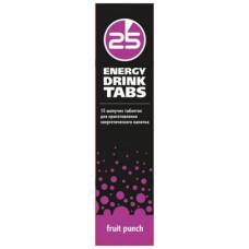 Энергетический напиток 25-й час Energy Drink Tabs фруктовый пунш