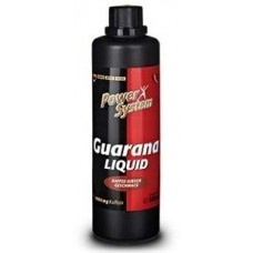 Энергетический напиток Power System Guarana Liquid 25 мл кофейно-вишневый