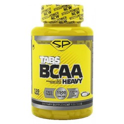 Steel Power Nutrition BCAA Tabs Heavy 120 таблеток без вкуса