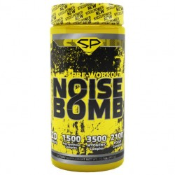 Предтренировочный комплекс SteelPower Noise Bomb 450 г яблоко