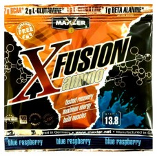 Maxler X Fusion Amino BCAA 14 г blue raspberry