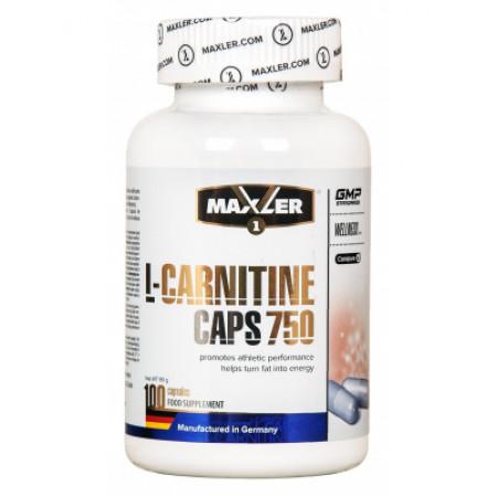Maxler L-Carnitine 750, 100 капсул