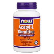 NOW Sports Acetyl L-Carnitine, 90 таблеток