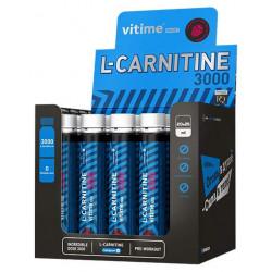 Vitime L-Carnitine 3000, 1 ампула 25 мл, Raspberry