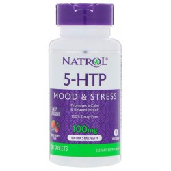 Natrol 5-HTP 30 таблеток ягоды