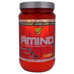 BSN Amino X 435 г клубника/апельсин