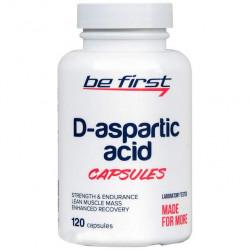 Be First D-Aspartic Acid 120 капсул без вкуса