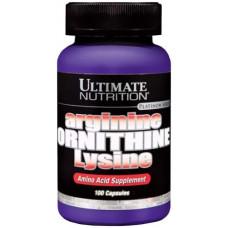 Ultimate Nutrition Arginine Ornithine Lysine 100 капсул без вкуса
