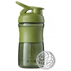 Шейкер спортивный Blender Bottle SportMixer 591 мл Оливковый