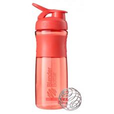 Шейкер Blender Bottle SportMixer 1 кам. 828 мл коралловый