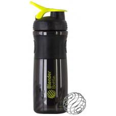 Шейкер Blender Bottle SportMixer 1 кам. 828 мл черный, зеленый