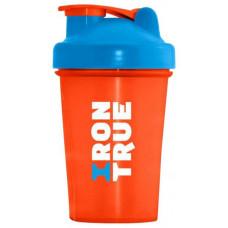 Шейкер IronTrue ITS901 1 кам. 500 мл оранжевый, голубой