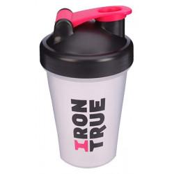 Шейкер IronTrue ITS901 1 кам. 500 мл розовый, черный, белый