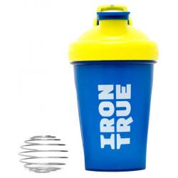 Шейкер IronTrue ITS916 1 кам. 500 мл желтый, голубой