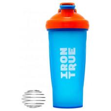 Шейкер IronTrue ITS916 700 мл оранжевый, голубой