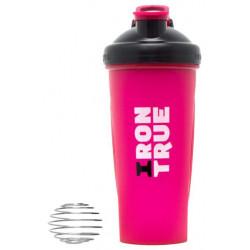 Шейкер IronTrue ITS916 1 кам. 700 мл черный, розовый