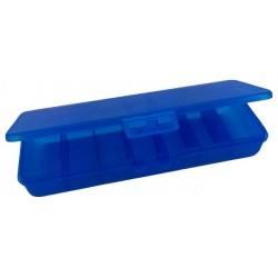Таблетница Спортивный элемент Pb-2 7 кам. синий