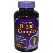 Витаминный комплекс Natrol B-100 Complex 100 таблеток