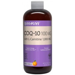 Коэнзим MRM CoQ10 with L-Carnitine 1000 480 мл